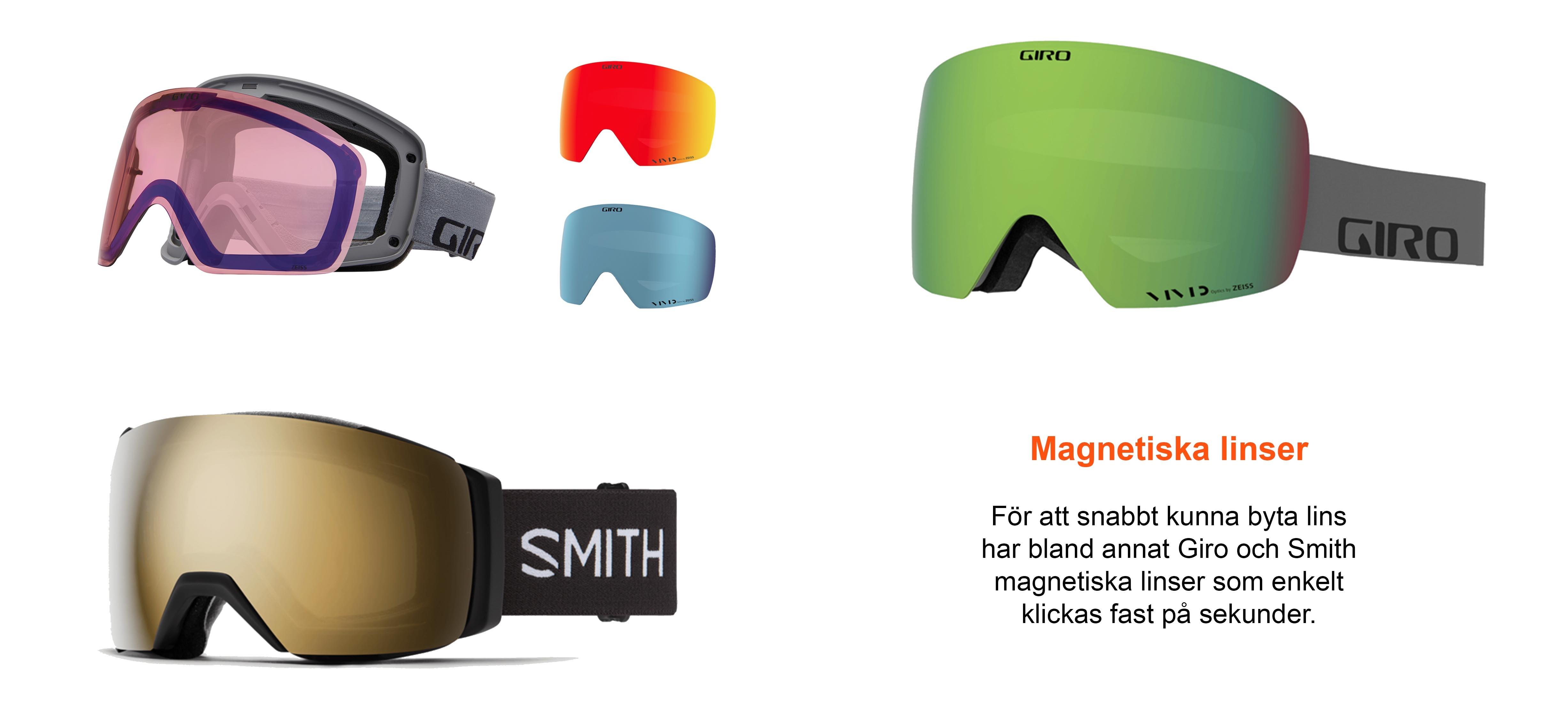 magnetiska goggles