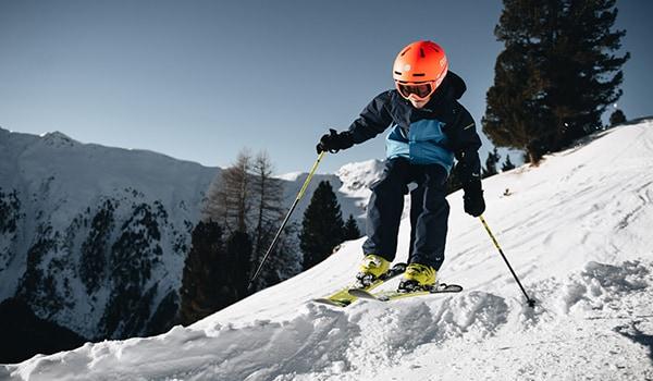 hjälmar till barn alpingaraget