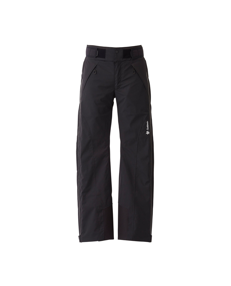 Goldwin Jr Atlas Side Open Pants Black