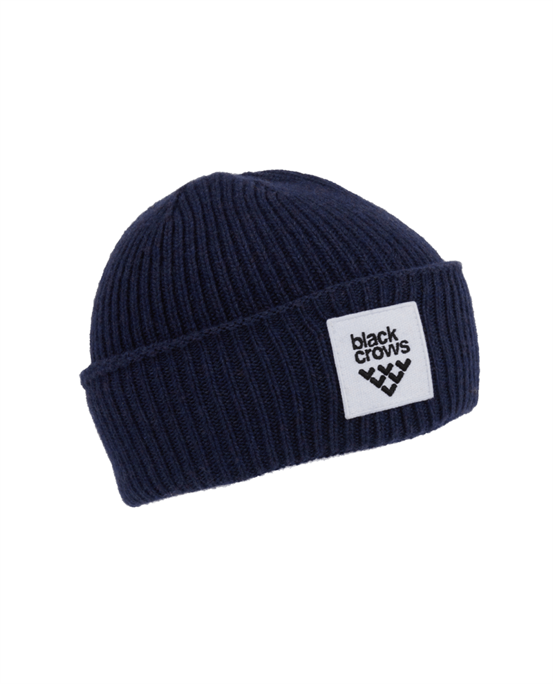 Black Crows Mori Beanie Dark Blue