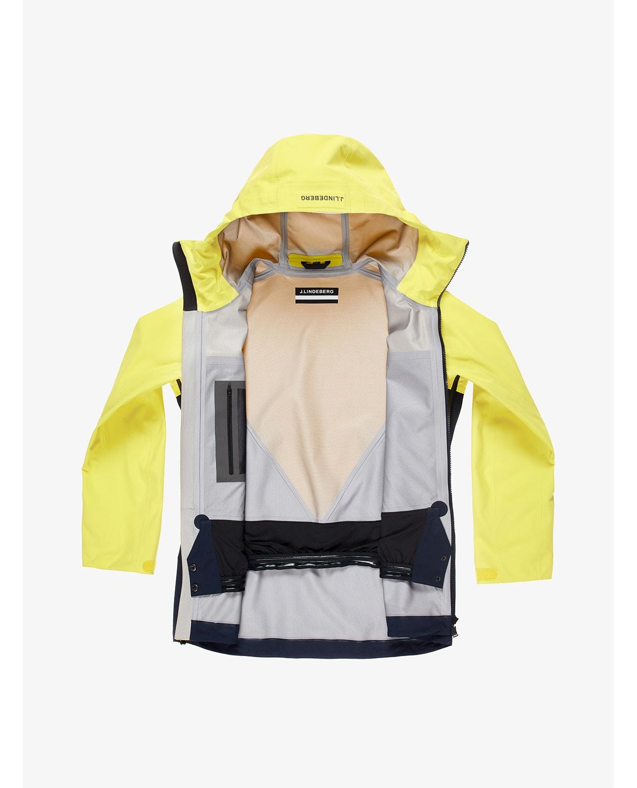 J.Lindeberg W Debby Shell Ski Jacket Banging Yellow